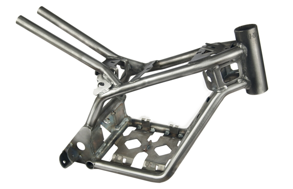 Electric motorcycle chassis